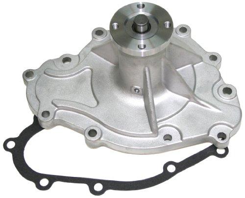 """PRW 1445500 Performance Quotient As-Cast 5/8"""" Pilot Shaft High Flow Aluminum Water Pump for Pontiac 265-455 1969-79"""
