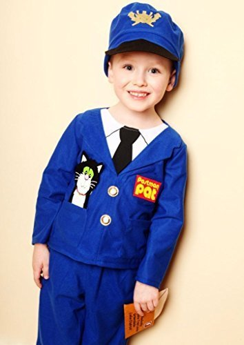 Postman Hat Costume (POSTMAN PAT FANCY DRESS COSTUME 3/5 YEARS TROUSERS/JACKET/HAT VMC by VMC)