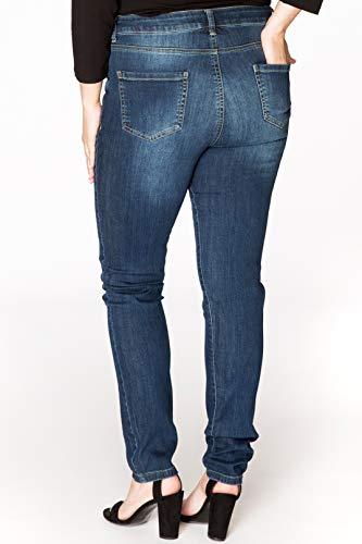 Yoek Indigo Grande Jean Skinny Femme Taille VSUzMqp