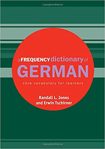 A Frequency Dictionary Of German Pdf