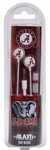 US Digital NCAA Alabama Crimson Tide Blast Earbud Headphones Alabama Crimson Tide Ipod