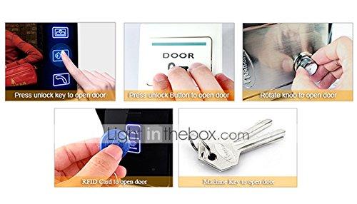 Lightinthebox 7'' Color Hands Free Video Door phone door lock system with 2 Monitors RFID keyfobs, Electronic Controlling Lock, Outdoor Camera by LightInTheBox (Image #6)