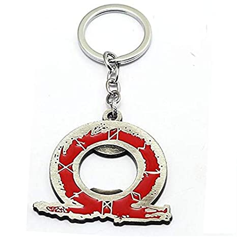 Amazon.com: FITIONS - Mixed God of War 4 Kratos Keychains ...