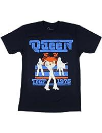 """Tour 1976"" Blue T-Shirt New Adult"
