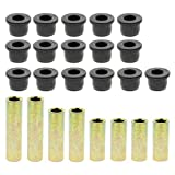 Carbhub Bushing Kit Front Lower Spring /& Front Upper A-Arm Susp for Club Car Precedent 102289901