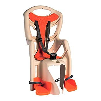 Image of Bellelli Child Bike Seat, Child Bike Carrier, Child Seat for Bikes, Bicycle Child Seat Pepe, Made in Italy Child Seats
