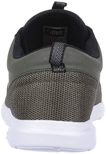 Premier Red De 0 2 Chaussure Skate Dvs Olive Mesh Fiery Pour Noir Footwear Homme W16nxBW4