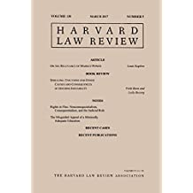 Harvard Law Review: Volume 130, Number 5 - March 2017
