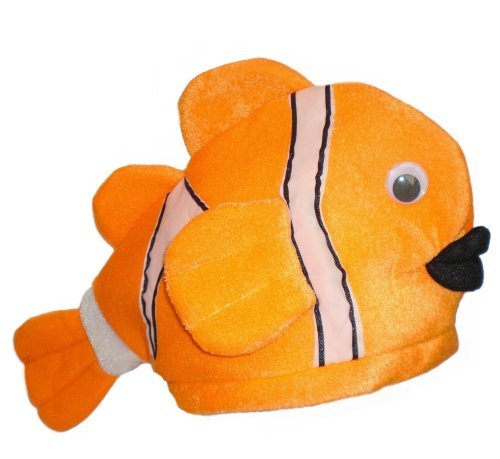 Funny Clown Fish Cosume Hat (Nemo Hat)