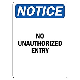 *Aluminum* Warning No Democrats 8 x 12 Metal Novelty Sign  s614