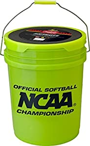 6 Gallon Youth Practice Ball/Bucket Combo Includes 18