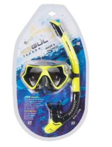 GUL TARPON ADULT MASK /& SNORKEL SET silicone dive mask