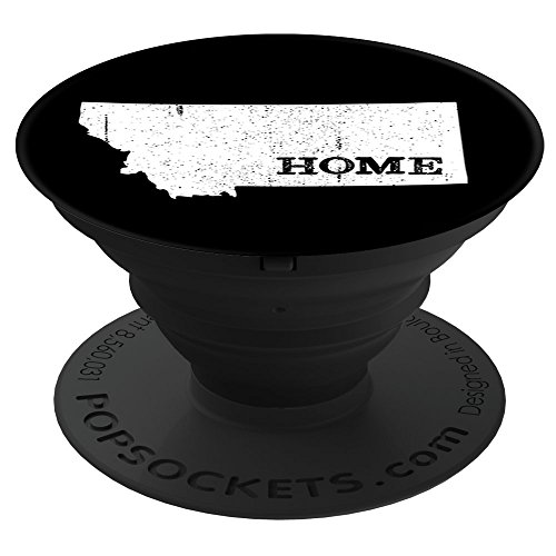Culture of Pop Montana MT Home State Pride Born Vintage Map PopSockets Stand for Smartphones and - Montana Pop