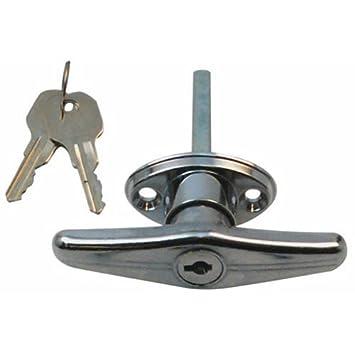 garage door lock handle. Garage Door \u0026quot;T\u0026quot; Lock Handle A
