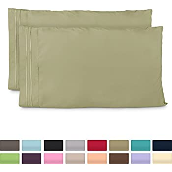 standard size pillow cases luxury sage green pillowcases fits queen size pillows. Black Bedroom Furniture Sets. Home Design Ideas