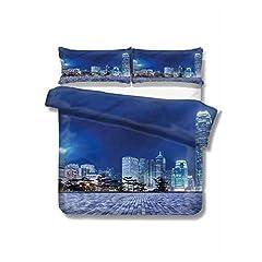 "Set Includes 1 x Comforter 2 x Pillow Cases Size Information Twin - comforter 68"" x 90"", pillow cases 20"" x 26"". Full - comforter 80"" x 90"", pillow cases 20"" x 26"". Queen - comforter 90"" x 90"", pillow cases 20"" x 30"". King - comforter 104"" x ..."