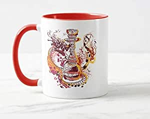 Color Mug, Both side Printed with creative design