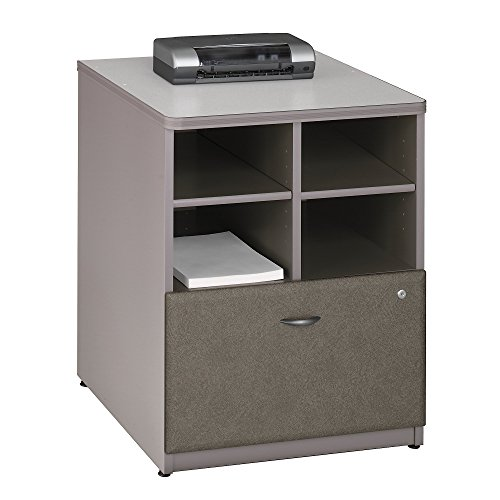 Pewter Filing File Cabinet (Bush Business Furniture Series A Piler Filer, 24