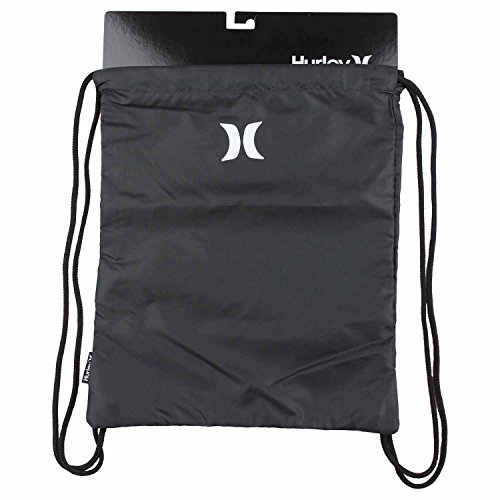 Hurley One And Only Cinch Sack Backpack (Black)]()