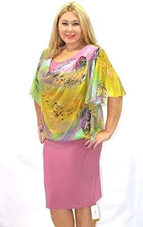 Modis Fashion Women's Dress Model 734 24 (pink, Eu 44)