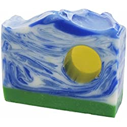 Fresh Line-Dried Linen Handmade Artisan Luxury Soap Bar by Score Soap
