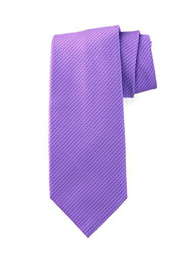 (Robert Jensen Finest Silk Handmade Men's Neck Tie - Woven - Tight Basket Weave)