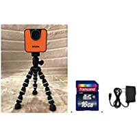 Brinno WiFi HDR Time Lapse Camera TLC120 + Smartec Flexible Tripod + KIT