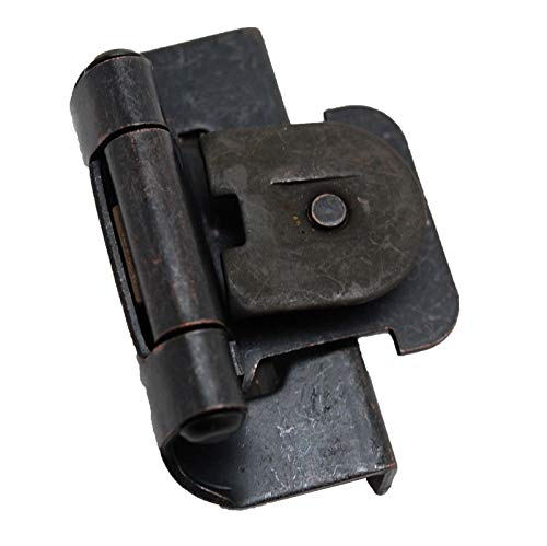 Pair Steel 1/2'' Double Demountable Hinge Oil Rubbed Bronze 9870410