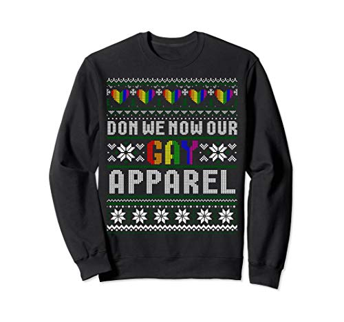 (Don We Now Our Gay Apparel Ugly Sweaters)