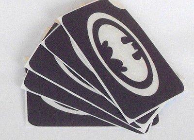 (TEMPORARY GLITTER TATTOO 5 x stencil batman glitter tattoo cool item airbrush)