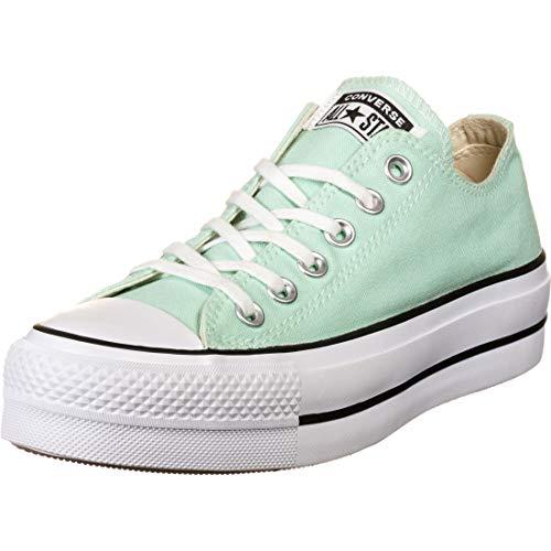 Calzado Deportivo para Mujer, Color Verde, Marca CONVERSE, Modelo Calzado Deportivo para Mujer CONVERSE Chuck Taylor All Star Lift Verde