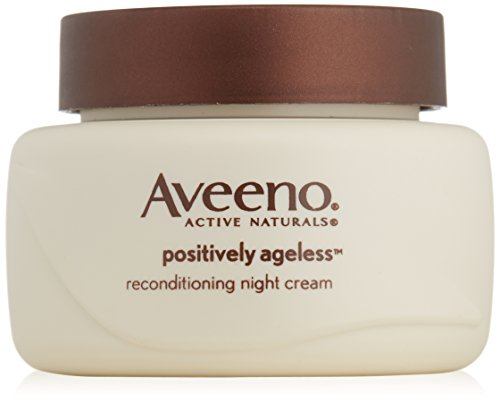 Aveeno Active Naturals Positively Ageless Night Cream with N