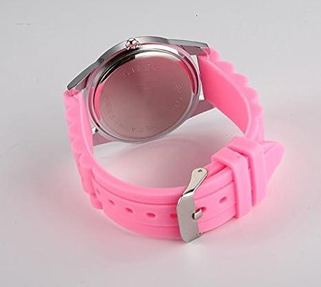 Amazon.com: Cartoon Watches Women Silicone Jelly Children Girls Dress Quartz Wristwatch Kids Hellokitty Watches (Red): Cell Phones & Accessories