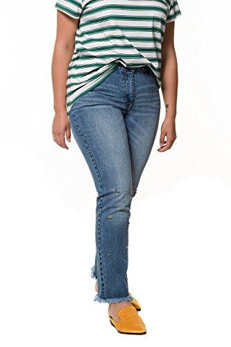 dchir lastique Femme Dames Bleu Coupe Untold 718386 Slim Leggings Denim Femmes Pantalon Jeans Studio Grandes Pantalon Maigre dlav Tailles Af10qS