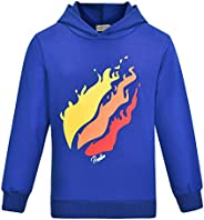 Thombase Prestonplayz Youtuber Boys Girls Hoodie Pullover Sweatshirts Hooded Preston Tops