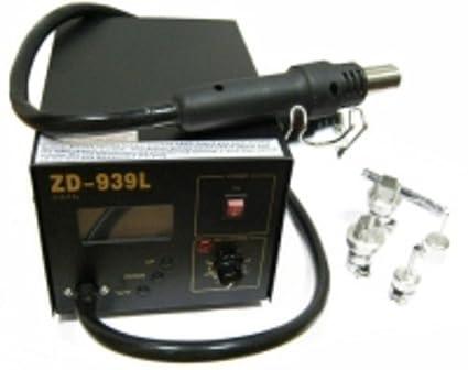 Estación de soldadura de aire caliente Digital para SMD
