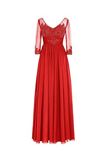 A Ad Donna Vestito Linea Rosso Fanciest gqxBwFEE