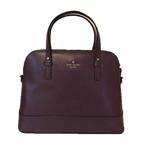 Kate Spade Grand Street Small Rachelle Handbag (Deep Plum) ()