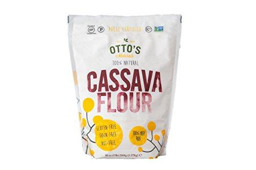 Otto's Naturals - 100% Natural Cassava Flour - 5 lb Bag (1 Pack)