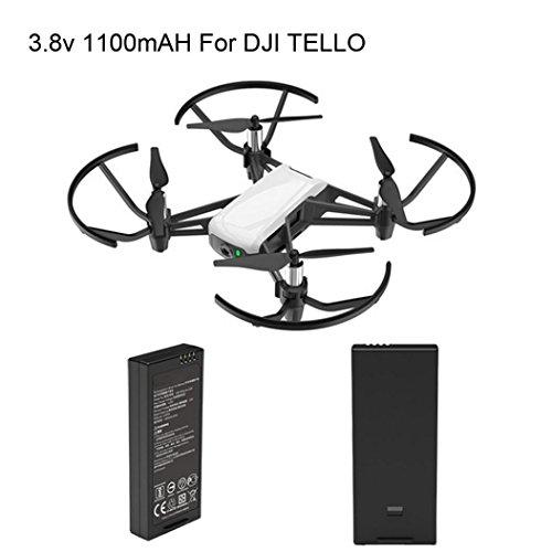 Rucan For DJI Tello Quadcopter Drone Intelligent Flight Battery 1100 mAh 3.8V (1PC)