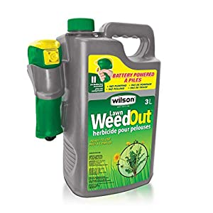 Wilson Lawn Weed Out Ready-to-Use with Battery Powered Sprayer 3-L