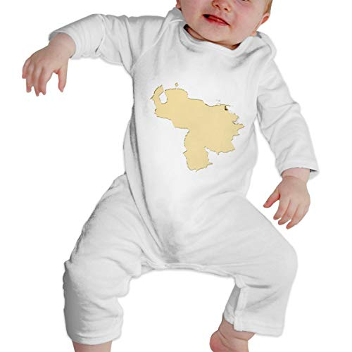 The Dictator Costumes For Sale - Newborn Baby Bodysuit, Map Gold No