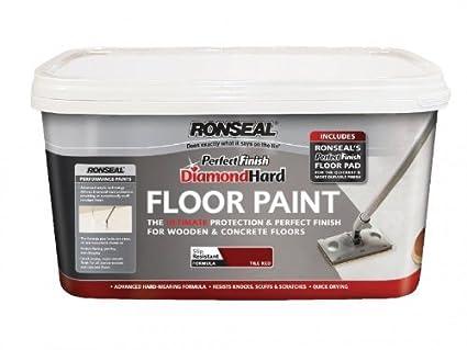 3 X Ronseal Dhgfpsl5l Diamond Hard Garage Floor Paint Slate