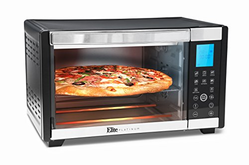 Elite-Platinum-ETO-2800-Elite-Platinum-Stainless-Steel-6-Slice-Convection-Toaster-Oven-w-Touch-Screen-Panel-Black
