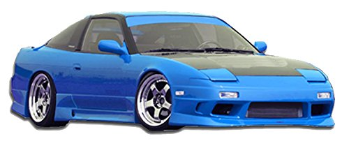 KBD Body Kits Compatible with Nissan 240SX HB 1989-1994 GP1 Style 4 Piece Flexfit Polyurethane Full Body Kit. Extremely Durable, Easy Installation, Guaranteed Fitment, Made in the USA!