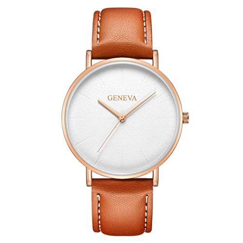 Paymenow Watches Clearance, Casual Lover Couple Men Women Unisex Business Watches Simple Analog Quartz Wrist Watch On Sale (N) ()