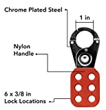 TRADESAFE Lock Out Tag Out Lock Hasp. 6 Pack
