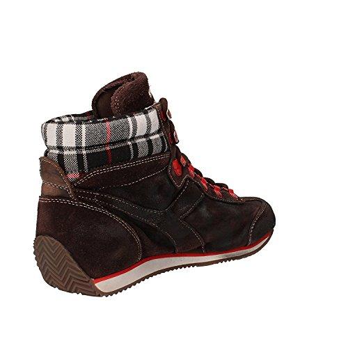 Sneaker Uomo H 38 Marrone Marrone SW Donna Scamosciata Pelle Equipe M Diadora SHq080