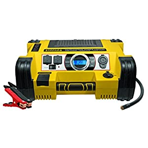 STANLEY FATMAX PPRH7DS Professional Power Station: 1400 Peak/700 Instant Amps, 500W Inverter, 120 PSI Air Compressor