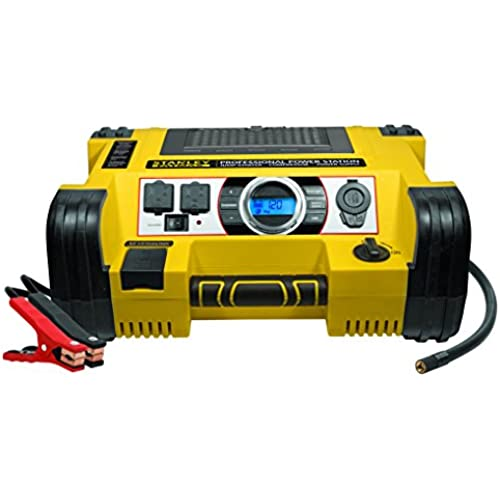 Buy STANLEY FATMAX PPRH7DS Professional Power Station: 1400 Peak/700 Instant Amps, 500W Inverter, 120 PSI Air Compressor